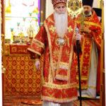 Архиерейское богослужение в храме Светлого Христова Воскресения в воскресный день 23 апреля 2017 года