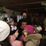 Рождество 2014 года прихожане Свято-Воскресенского Храма в д. Воскресенье встречали вместе со своими детьми и с ребятами из Марковской средней общеобразовательной школы