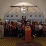 Воцерковление огласительной группы на Пасху 2008 года