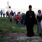 Дорога к храму на совместную молитву